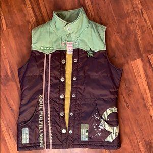 True Religion Puffy Vest